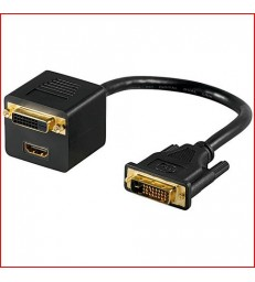 ADAPT 1 DVI MALE-1 HDMI