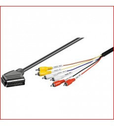 CABLE AUDIO VIDEO RCA