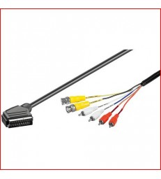 CABLE AUDIO VIDEO 2BNC+RCA